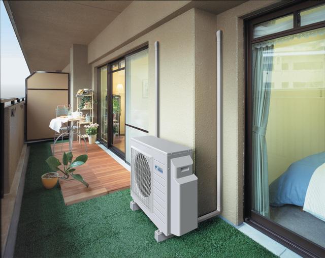 Lắp đặt điều hòa tiết kiệm diện tích phòng
